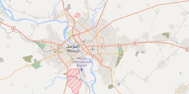 Musul'un batısı gazetecilere kapatıldı