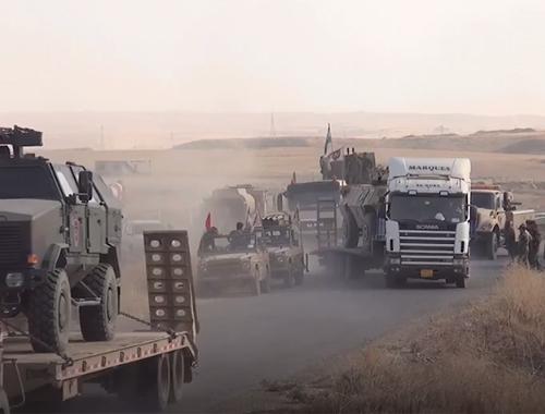 Musul'un kuzeyinde askeri hareketlilik