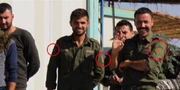 Mutabakat sonrası Ayn El Arab'da dikkat çeken anlar! Peçleri sökülmüş teröristlerle görüldüler