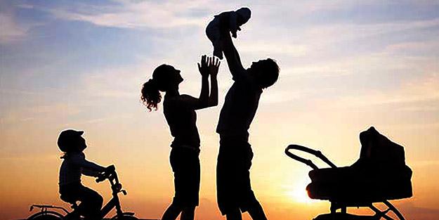 Mutluluğun yolu aile ve sağlıktan geçiyor