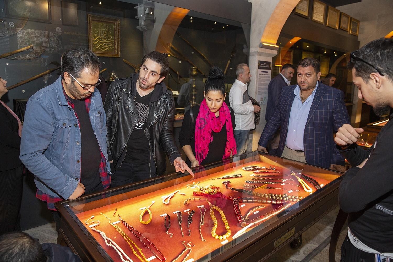 Müzelere 1 milyon ziyaretçi