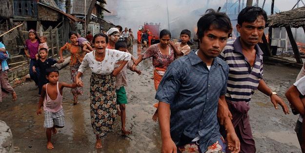 Myanmar, Arakan'da ateşkesi reddetti!