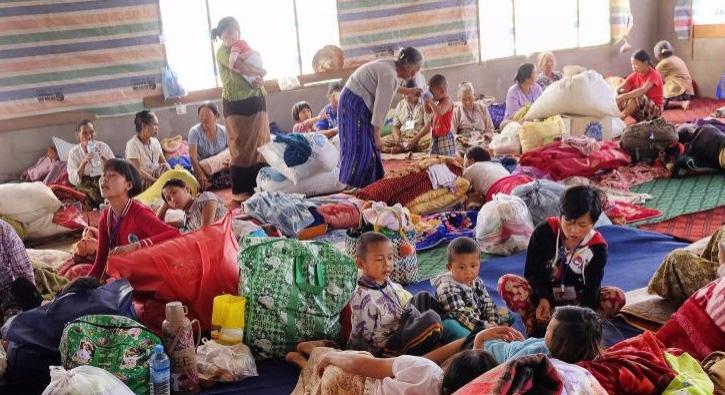 Myanmar'ın Shan eyaletinde 30 bin kişi yerinden edildi