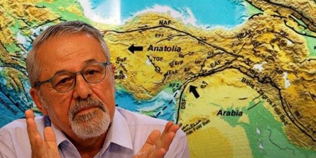 Naci Görür'den Antalya depremi açıklaması