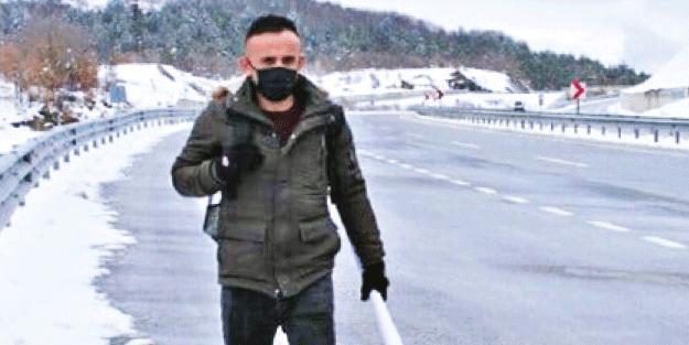 Nafaka zulmüne dikkat çekmek için Kastamonu'dan İstanbul'a yürüyor