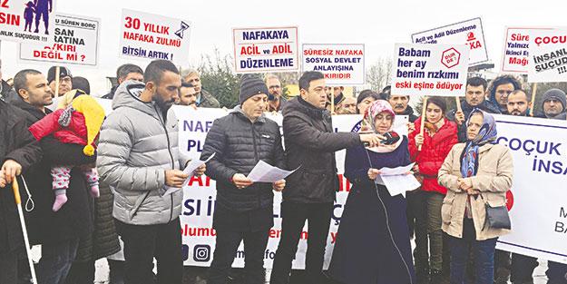 Nafakazedeler hükümetten somut adım bekliyor