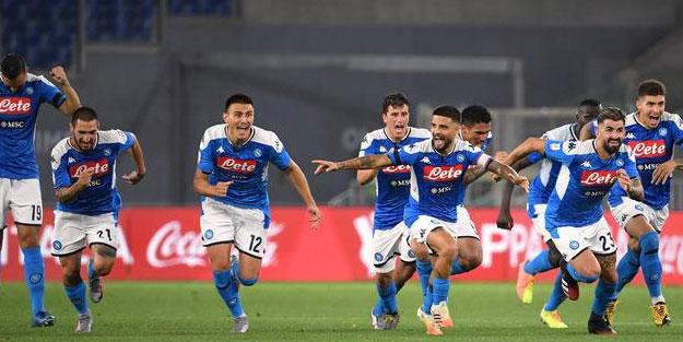 Napoli İtalya Kupası'nı Juventus'a kaptırmadı