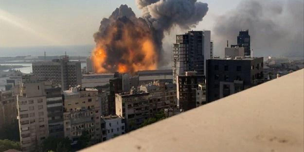 NASA görüntüleri paylaştı! Beyrut'taki yıkımın boyutu gözler önüne serildi