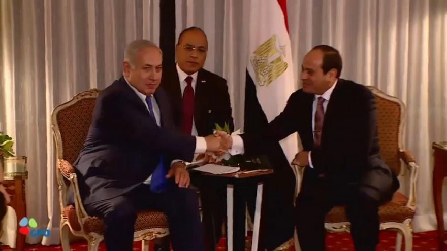 Natenyahu, Sisi ile gizlice görüşmüş