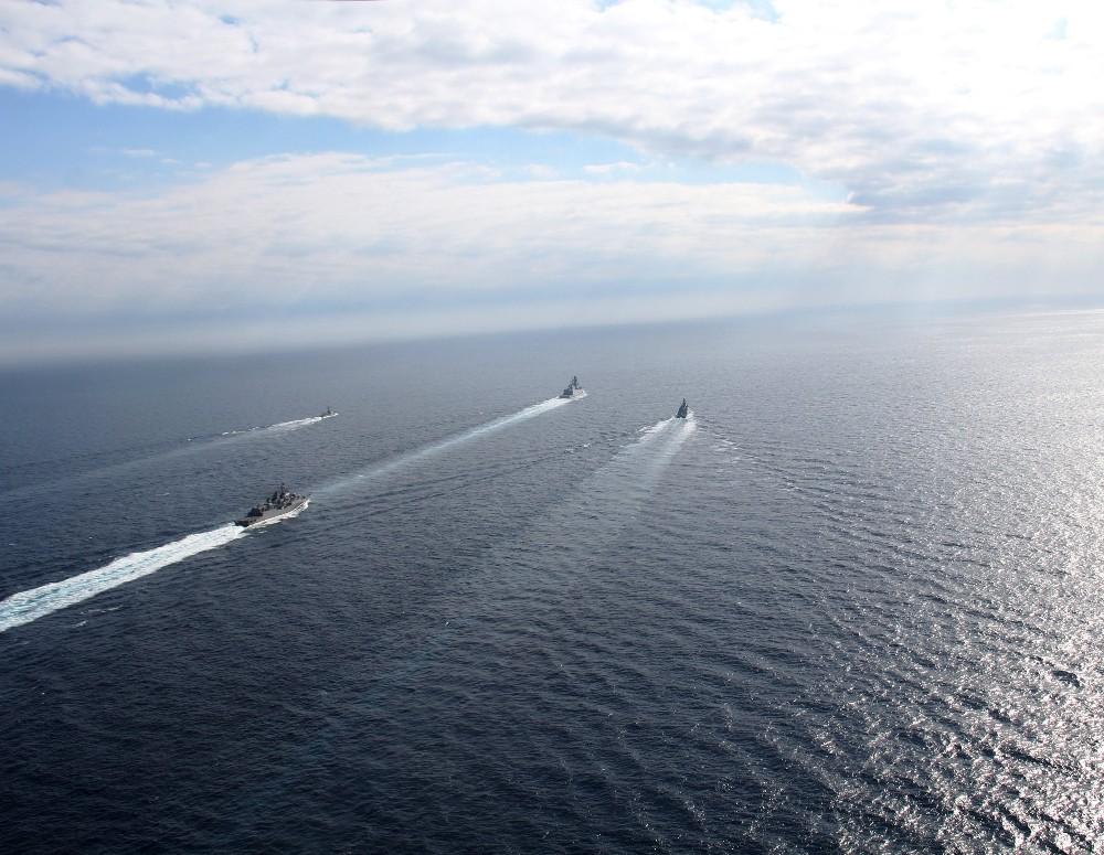 NATO Daimi Deniz Görev Grubu Doğu Akdeniz'de 'Geçiş Eğitimi'ni tamamladı