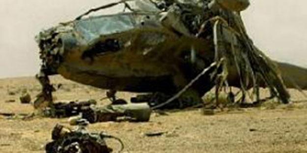 NATO helikopteri yere çakıldı: 5 ölü