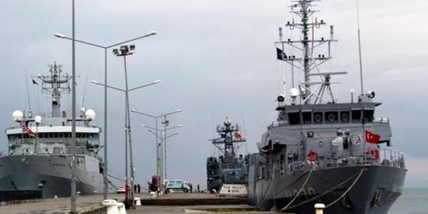 NATO savaş gemileri Türkiye'ye geldi