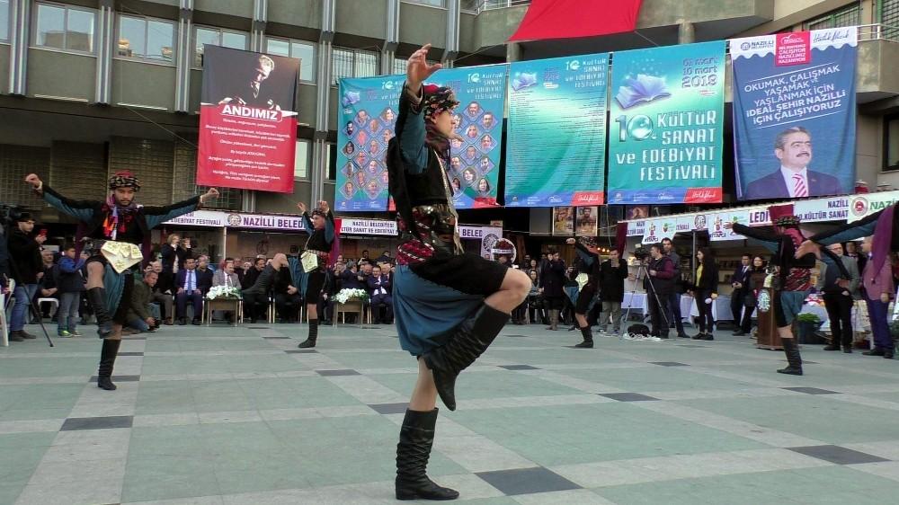 Nazilli 10. Kültür Sanat ve Edebiyat Festivali Başladı