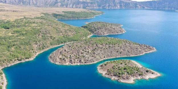 Nemrut Krater Gölü UNESCO listesine dahil edilecek