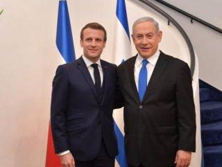 Netanyahu ile Macron'dan Türkiye toplantısı