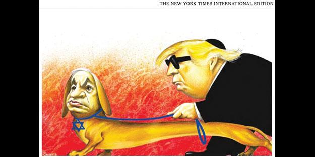 Netanyahu, Trump'ın rehber köpeği