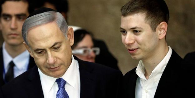 Netanyahu'nun oğlu fena rezil oldu! İsta