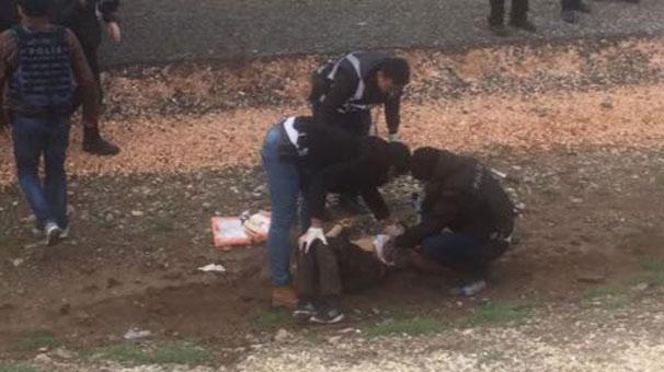 Nevruz alanına bıçakla girmek isteyen kişi vuruldu!