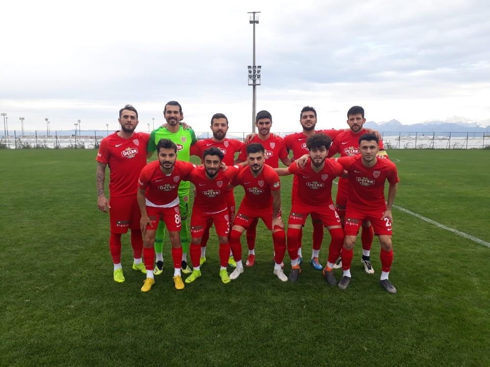 Nevşehir Belediyespor'un Antalya kampı sona erdi
