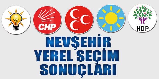 Nevşehir yerel seçim sonuçları 2019 | Nevşehir ilçeleri yerel seçim sonuçlar