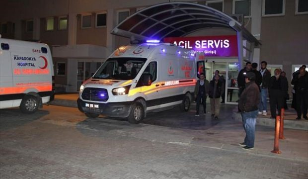Nevşehir'de iki araç çarpıştı: 1 ölü, 4 yaralı