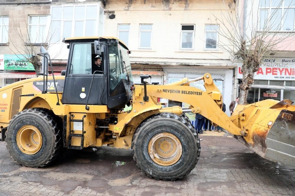 Nevşehir'de ikinci büyük altyapı hamlesi başladı
