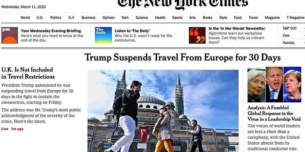 New York Times skandal fotoğrafı kaldırdı