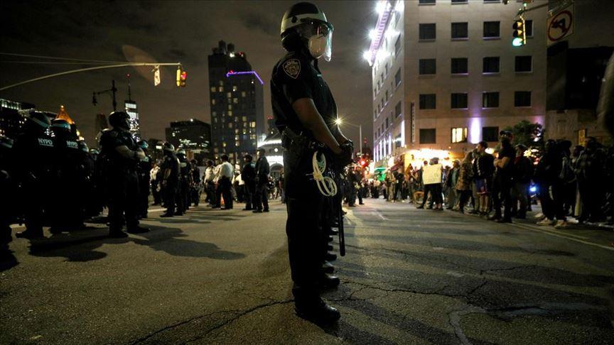 New York'taki 'George Floyd protestoları' sakin geçti