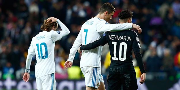 Neymar ve Ronaldo aynı takımda..!