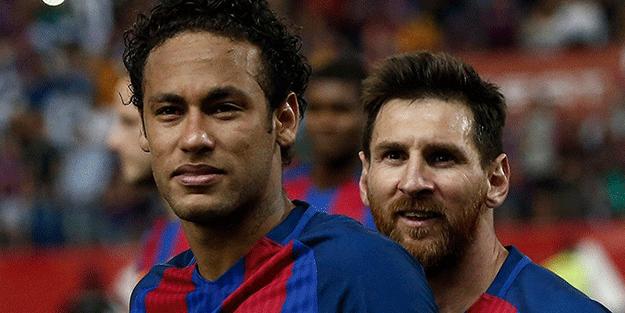 Neymar'dan Messi'ye beklenmedik çağrı