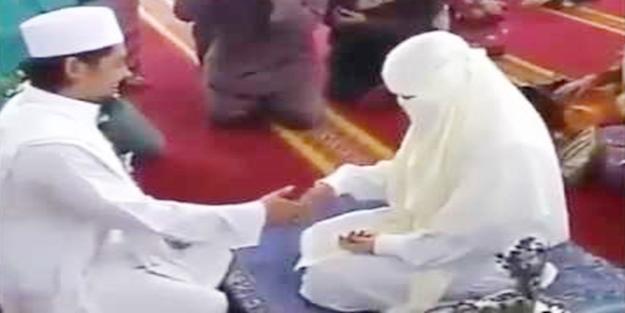 Nikahtan sonra eşinin elini bile tutmaya utandı...
