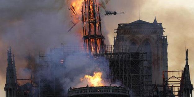 Notre-Dame için bağışlar patladı! Yerli şirketlerimiz izlemeye devam ediyor