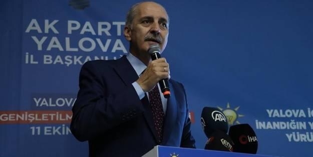Numan Kurtulmuş'tan Kılıçdaroğlu'na çağrı: Dilinin altında bakla neyse onu ortaya çıkar