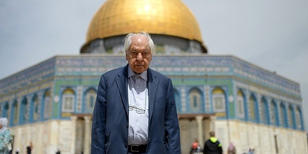Nuri Pakdil, sevdalısı olduğu Kudüs'te anıldı