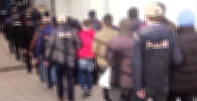 NUSAYBİN'DE TORBACILARA OPERASYON: 7 KİŞİ GÖZALTINA ALINDI
