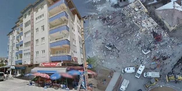 O binanın çökmeden önceki fotoğrafı ortaya çıktı