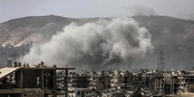 O bölgede çatışmalar şiddetlendi! Bomba yağıyor…