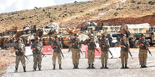 O bölgede kontrol Türk askerinde