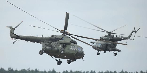 O bölgede Rus helikopteri düştü: 19 ölü