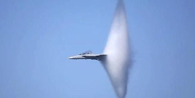 O gece F-16'lar böyle yapmış...