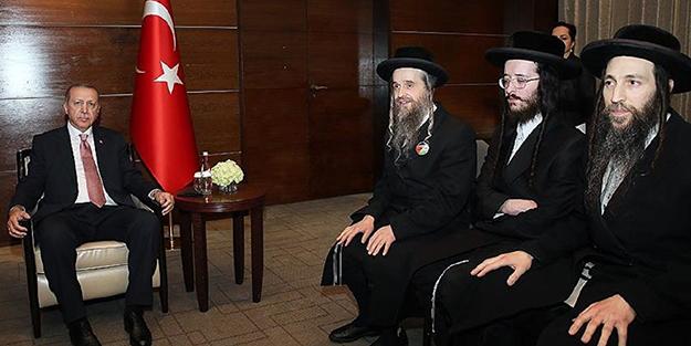 O Hahamlar Erdoğan'a böyle seslenmiş: Herkes sizin gibi davransa...
