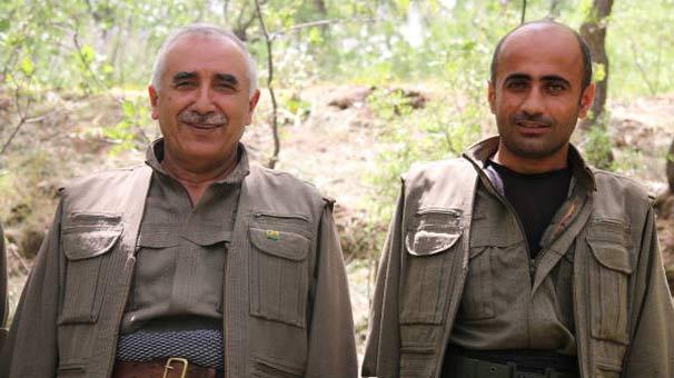 O terörist Murat Karayılan'ın en yakınında