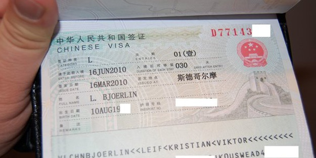 O ülke Çin vizeleri kaldıracak