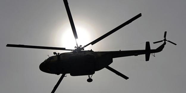 O ülkede şok... Askeri helikopter düştü