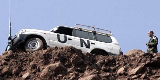 O ülkenin askerleri BM konvoyuna saldırdı
