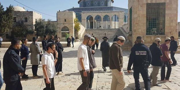 Siyonist örgütten küstah 'Kudüs baskını' çağrısı!