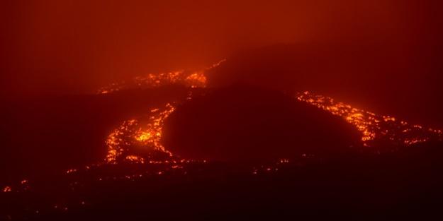O yanardağ yeniden harekete geçti!