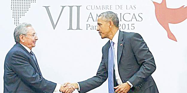 Obama'dan Küba için tarihi adım