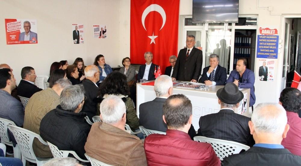 Ödemiş CHP'den 'terörle ilintili meclis üye listesi' iddialarına açıklama