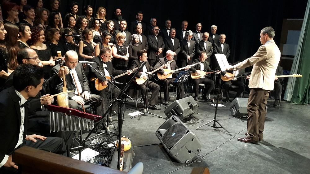 Odunpazarı HEM'in ''Sezon Ortası ve 46. Yıl Sanat Gecesi - 1'' konseri